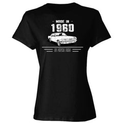 Made in 1960 - All Original Parts - Ladies' Cotton T-Shirt