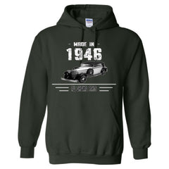 Made in 1946 - All Original Parts - Adult Hoodie