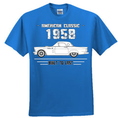 1958 American Classic - Built To Last - Ultra Cotton™ 100% Cotton T Shirt