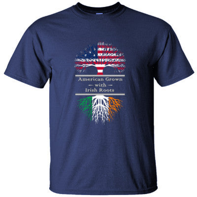 AMERICAN GROWN WITH IRISH ROOTS GREAT SHIRT IRELAND - Ultracotton T-Shirt