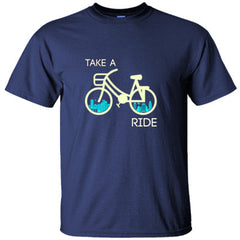 Take A Ride Bicycle in The City - Ultracotton T-Shirt