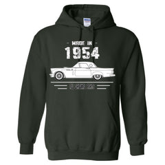 Made in 1954 - All Original Parts - Adult Hoodie