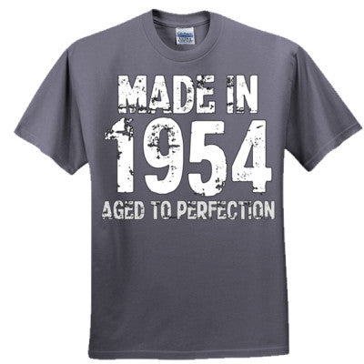 Made in 1954 - Aged To Perfection - Ultra Cotton™ 100% Cotton T Shirt