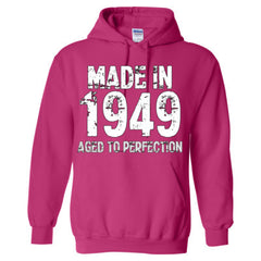 Made in 1949 - Aged To Perfection - Adult Hoodie