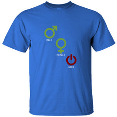 MALE FEMALE GEEK GREAT SHIRT - Ultracotton T-Shirt