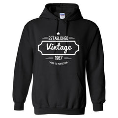 1967 Vintage Aged to Perfection Shirt - Adult Hoodie