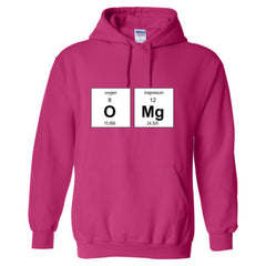 OMG PERIODIC TABLE T SHIRT - Adult Hoodie