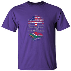 AMERICAN GROWN WITH SOUTH AFRICAN ROOTS GREAT SHIRT SOUTH AFRICA - Ultracotton T-Shirt
