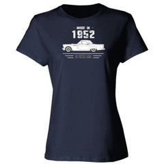 Made in 1952 - All Original Parts - Ladies' 4.5 oz., 100% Ringspun Cotton nano-T® T-Shirt