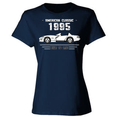 1995 American Classic - Built To Last  - Ladies' Cotton T-Shirt