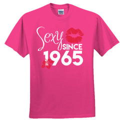 Sexy Since 1965 Shirt - Adult Tshirt