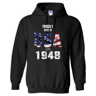Proudly Made in USA since 1948 - Adult Hoodie