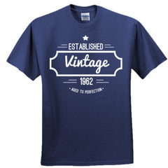 1962 VINTAGE AGED TO PERFECTION T SHIRT