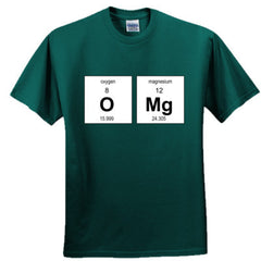 OMG PERIODIC TABLE T SHIRT - Adult Tshirt