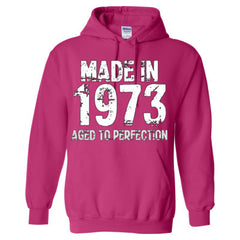 Made in 1973 - Aged To Perfection - Adult Hoodie