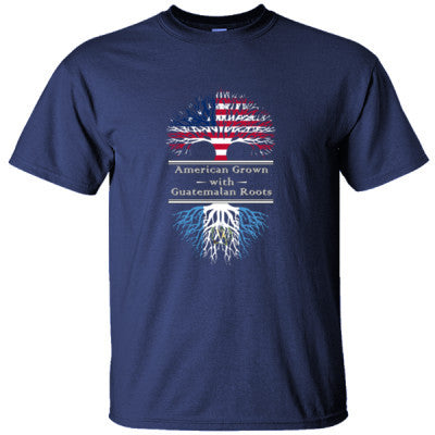 AMERICAN GROWN WITH GUATEMALAN ROOTS GREAT SHIRT GUATEMALA - Ultracotton T-Shirt