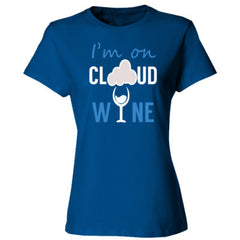 CLOUD WINE T SHIRT - Ladies' Cotton T-Shirt