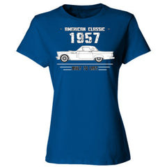 1957 American Classic - Built To Last - Ladies' 4.5 oz., 100% Ringspun Cotton nano-T® T-Shirt