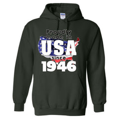 Proudly Made in USA since 1946 - Adult Hoodie