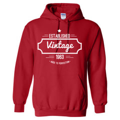 1963 VINTAGE AGED TO PERFECTION HOODIE/TSHIRT