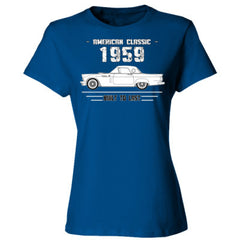 1959 American Classic - Built To Last - Ladies' 4.5 oz., 100% Ringspun Cotton nano-T® T-Shirt