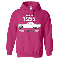 Made in 1955 - All Original Parts - Adult Hoodie