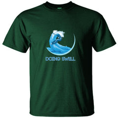 DOING SWELL GREAT SURFING SHIRT - Ultracotton T-Shirt