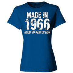 Made in 1966 - Aged To Perfection - Ladies' Cotton T-Shirt