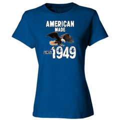 American Made since 1949 - Ladies' 4.5 oz., 100% Ringspun Cotton nano-T® T-Shirt