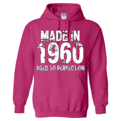 Made in 1960 - Aged To Perfection - Adult Hoodie