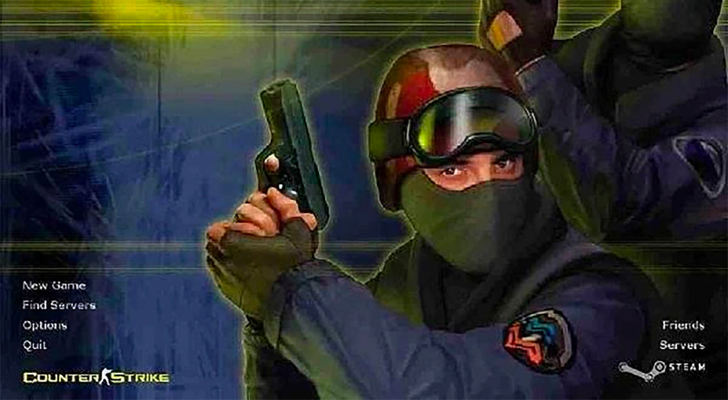 """Counter-Strike 1.6"" available on your browser."