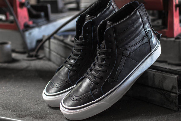 54898832f5 Southern California-based boutique Blends partners up with Vans Vault to  recreate the classic Sk8-Hi model once again with their fifth installment  of the ...