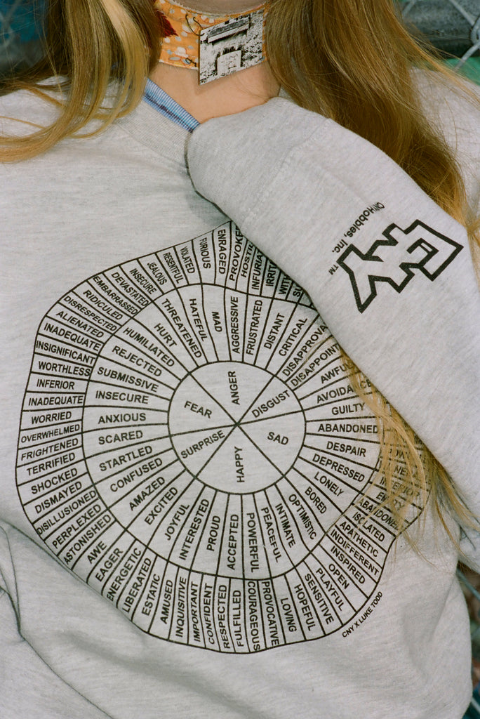 CNY Feel Wheel x Luke Todd Crewneck