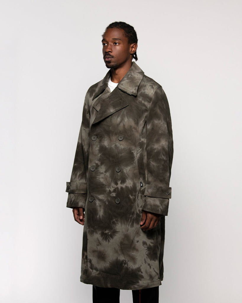 Dyed Trench Coat