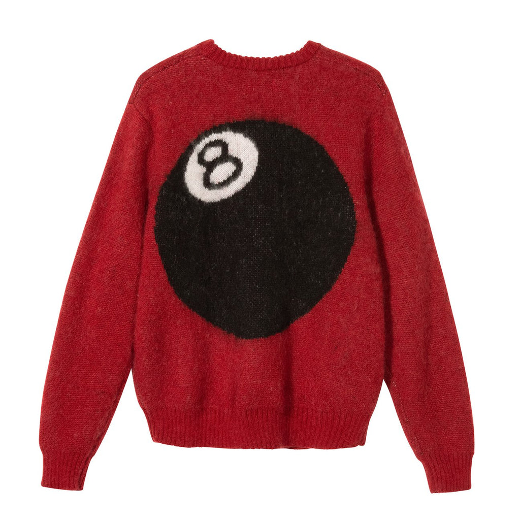 8 Ball Heavy Brushed Mohair Sweater