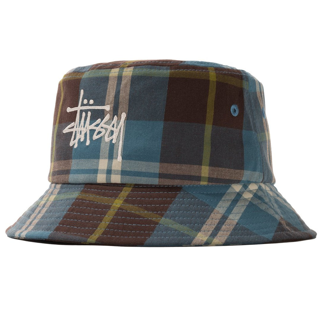 Big Logo Madras Bucket Hat