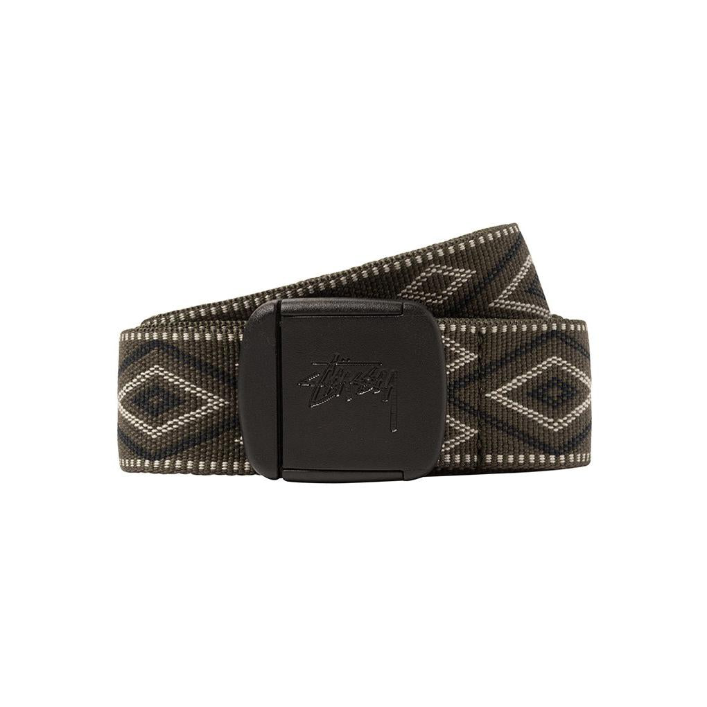 Diamond Jacquard Travel Belt