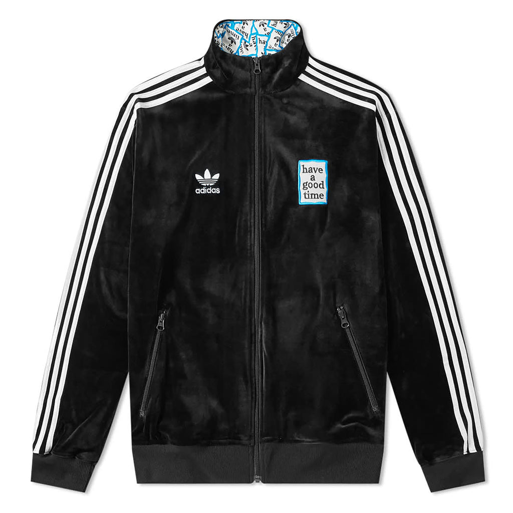 Have A Good Time x Adidas Velour Track Top