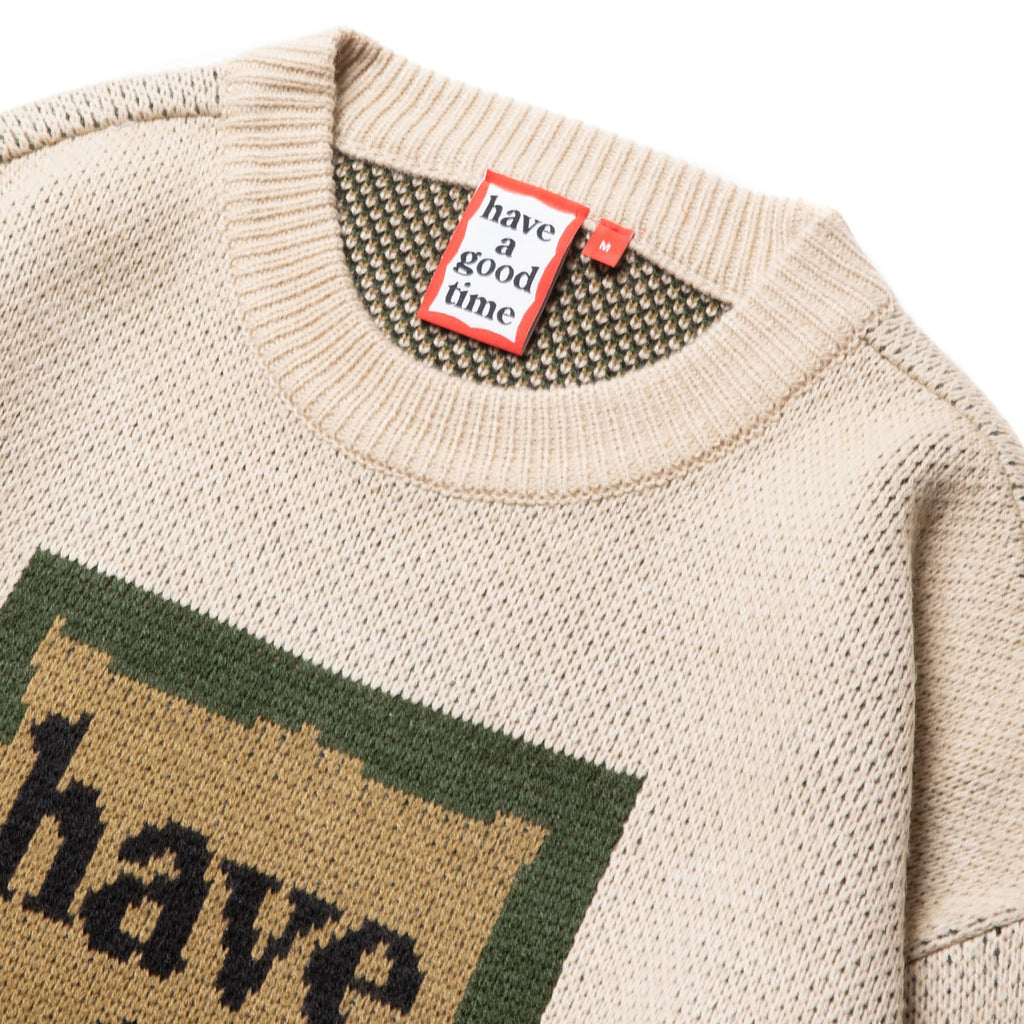 Military Frame Crew Knit