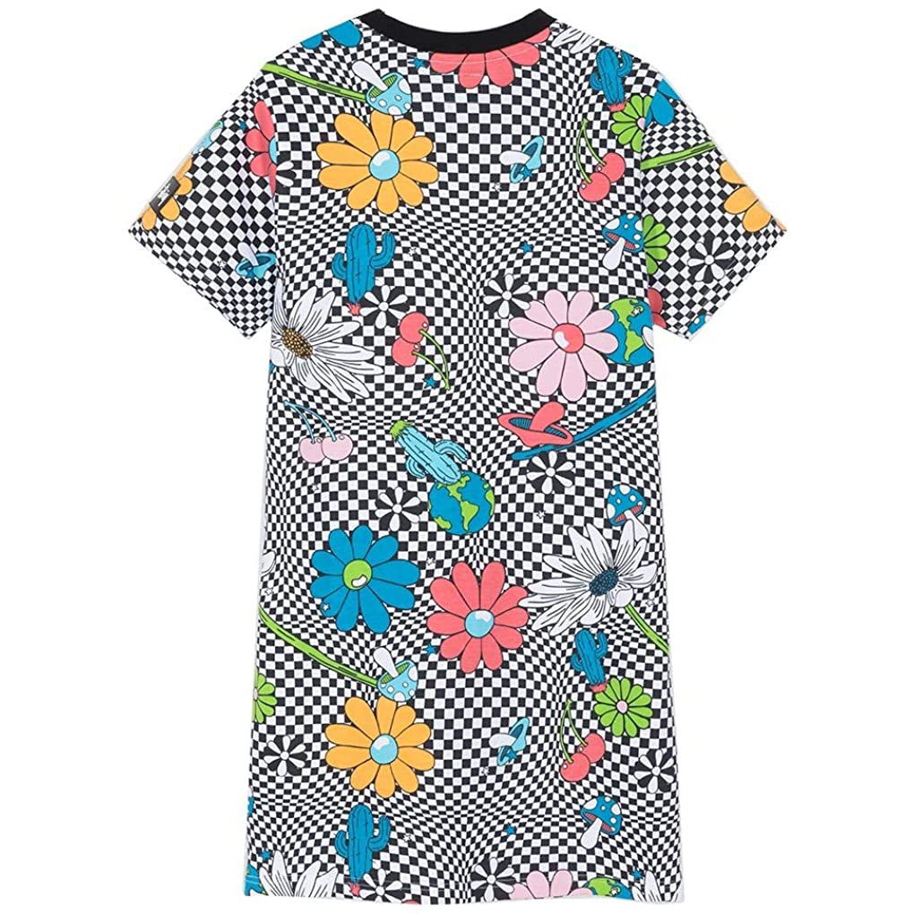 Vacation Checker Printed Dress (Wmns)