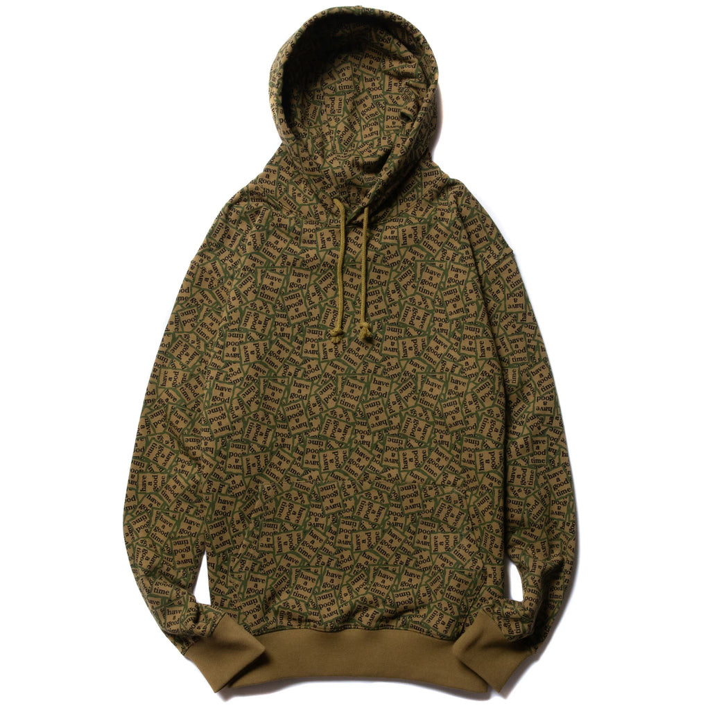Military Frame Allover Pullover Hoodie