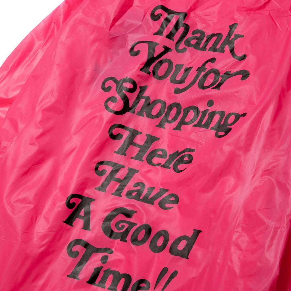 Thank You For Shopping Raincoat (Mini Bag Included)