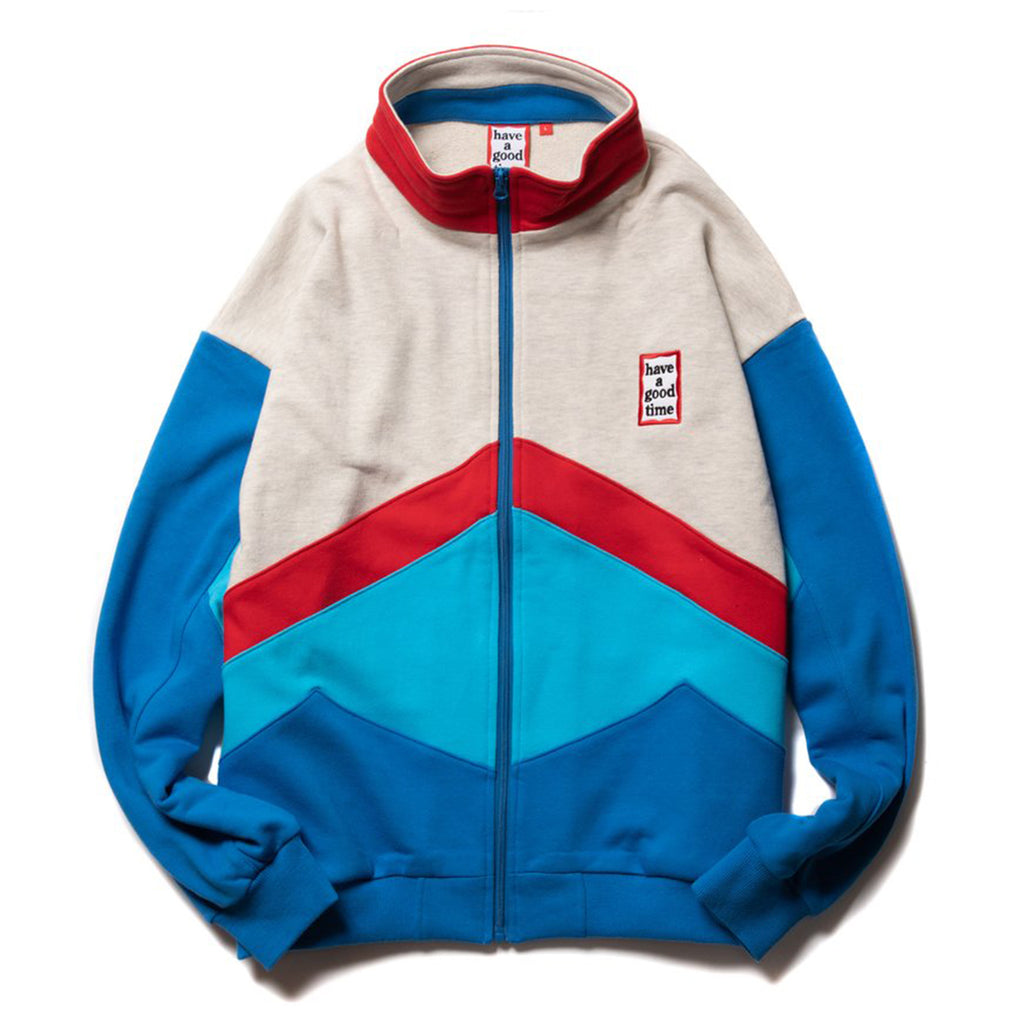Mini Frame 4 Color Zip-Up Sweatshirt