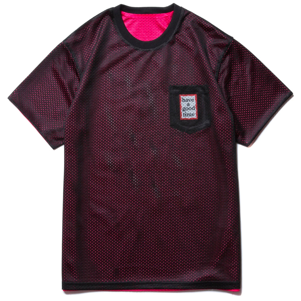 Mesh Reversible Mini Frame SS Tee