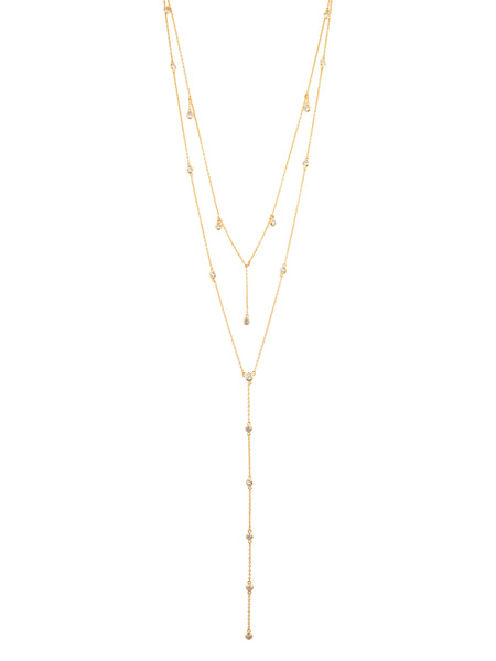Shashi Diamond Dangle Necklace
