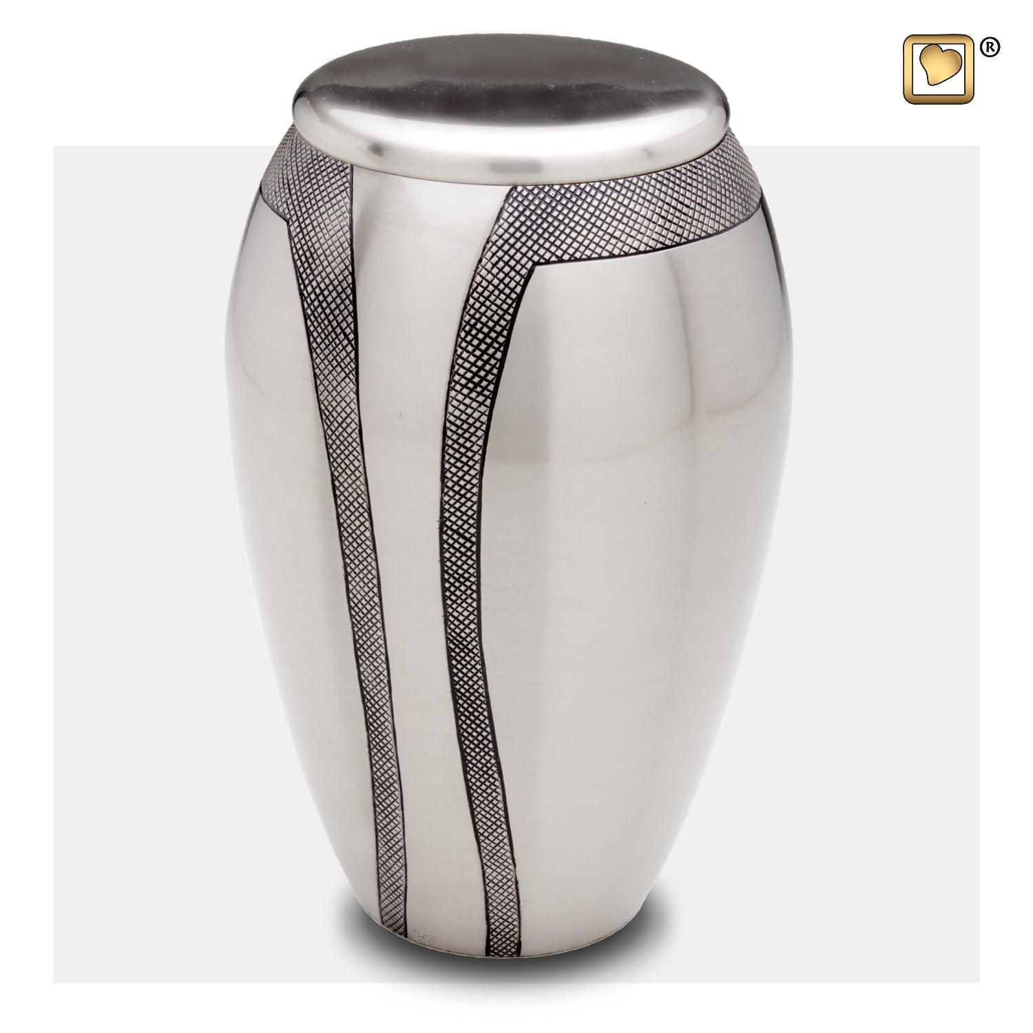 A505  Majestic™ Stripes Adult Urn Bru Pewter