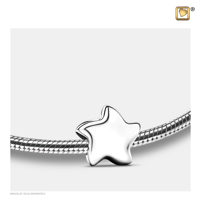 BD2030 BEAD Angelic Star Silver™ Rhodium Plated