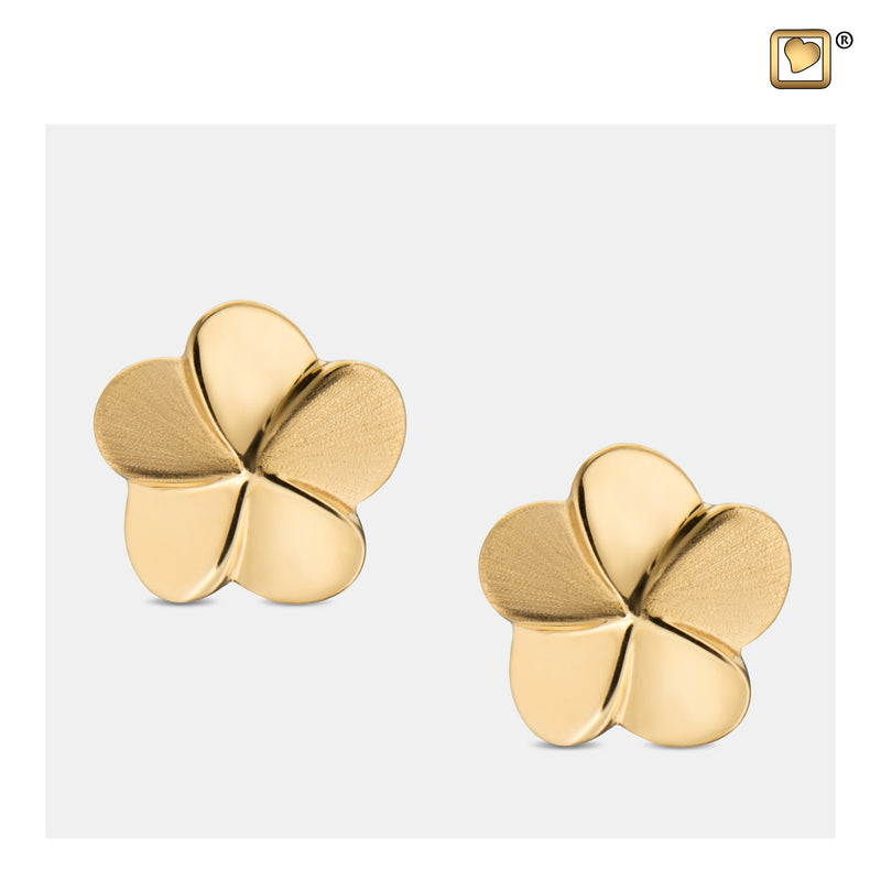 ER1071 STUD EARRINGS Bloom™ Gold Vermeil Two Tone
