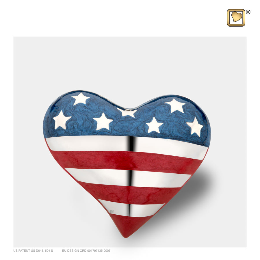 H272 HEART STARS & STRIPES™
