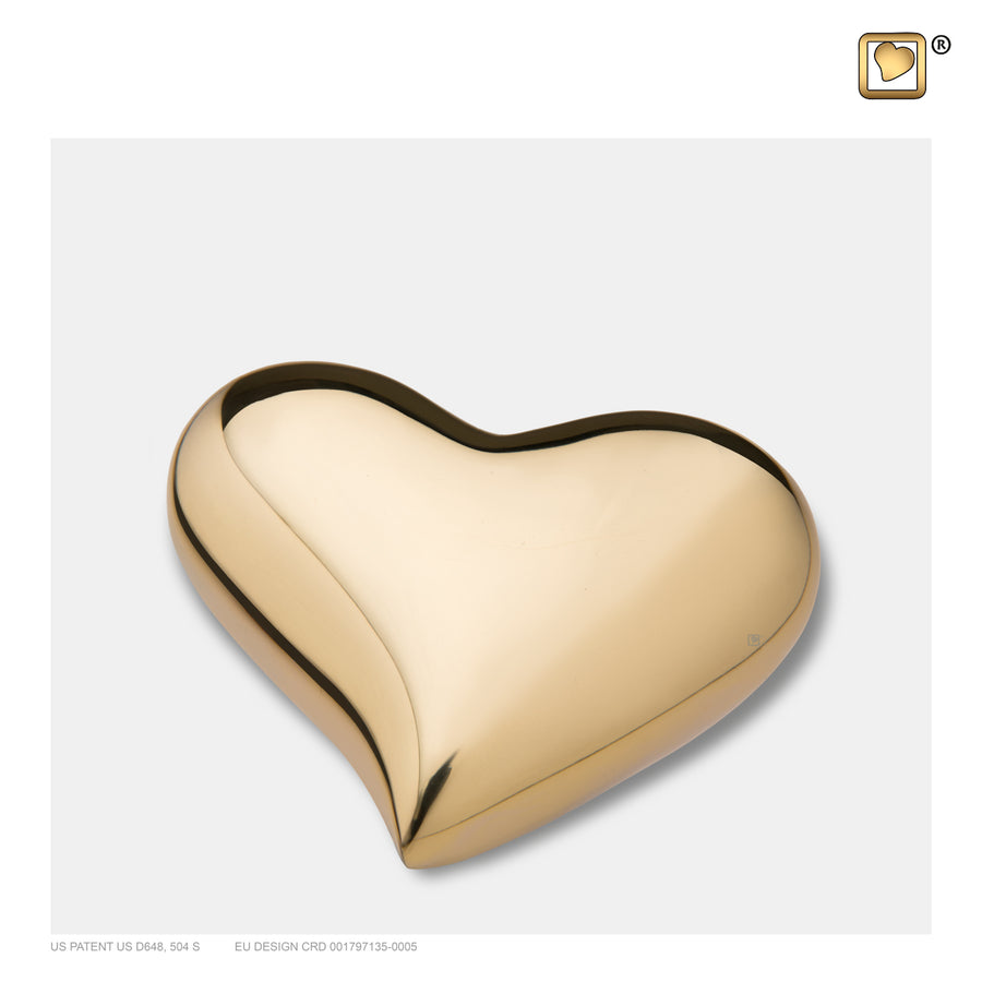 K602 HEART BRIGHT GOLD™